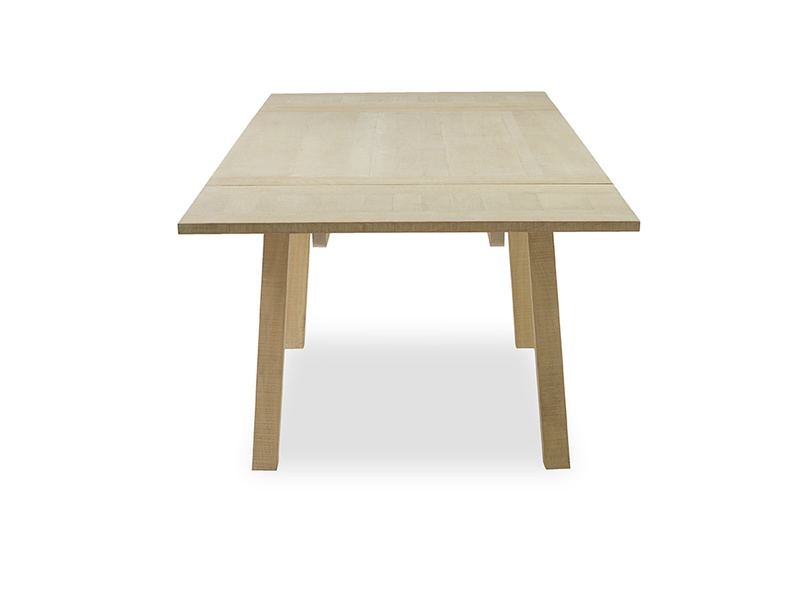 Country Mile wooden kitchen table side detail
