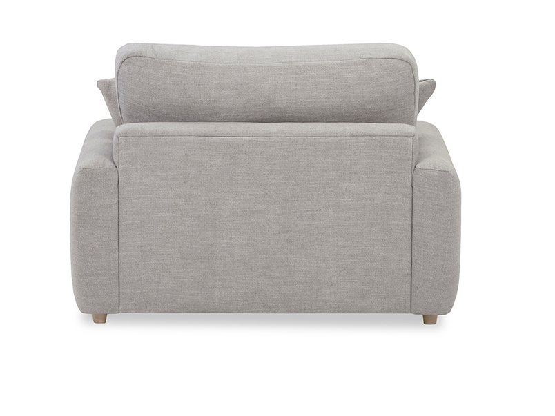 Easy Squeeze love seat back detail