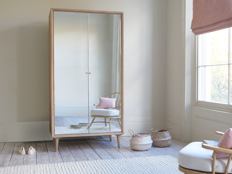 Grand Trixie mirrored wardrobe