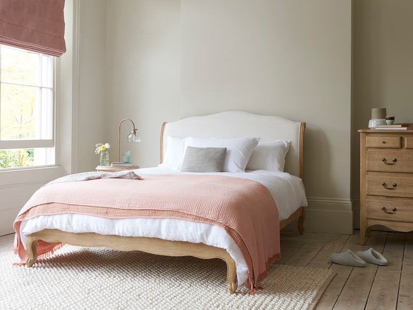 Coco French style wooden bed