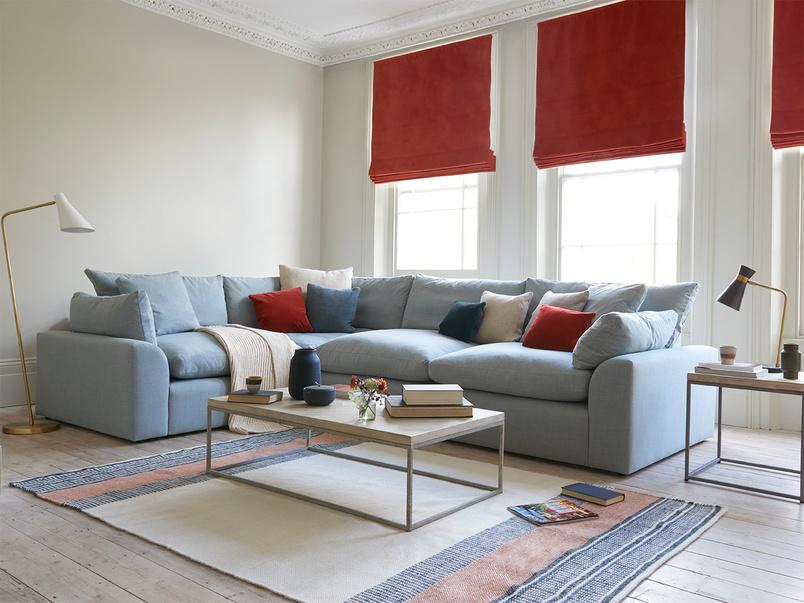 Cuddlemuffin large comfy modular sofa