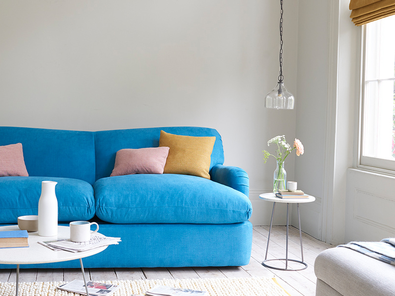 Pudding large upholstered sofa bed