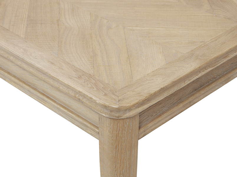 Jigsaw Kitchen table corner detail