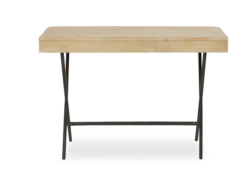 Jotter slim line wooden desk back