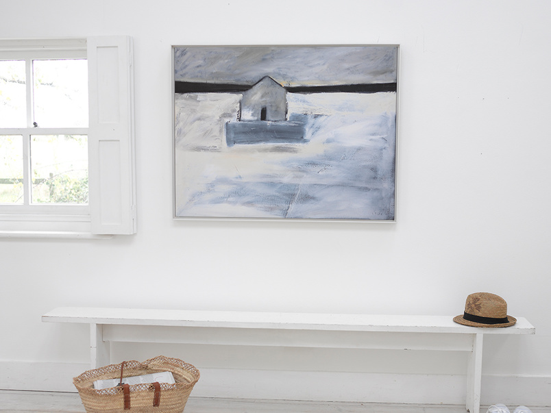 Retreat Ben Lowe canvas framed art print