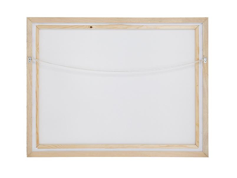Retreat framed canvas print by Ben Lowe art