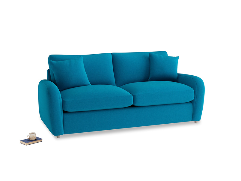 Medium Easy Squeeze Sofa Bed in Bermuda Brushed Cotton
