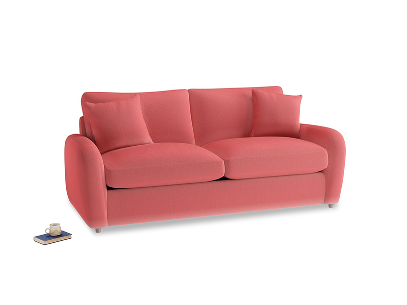 Medium Easy Squeeze Sofa Bed in Carnival Clever Deep Velvet
