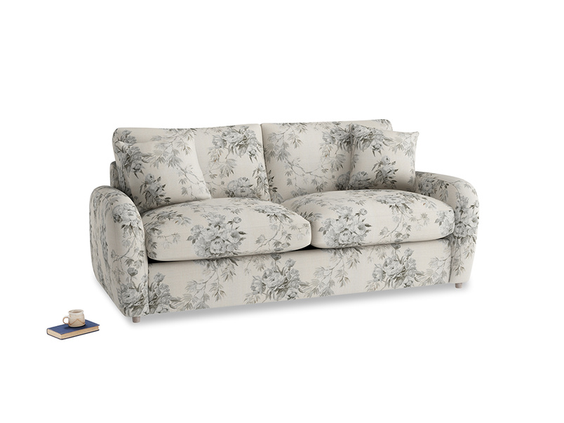 Medium Easy Squeeze Sofa Bed in Dusty Blue vintage rose