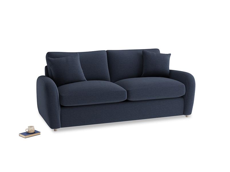 Medium Easy Squeeze Sofa Bed in Indigo vintage linen