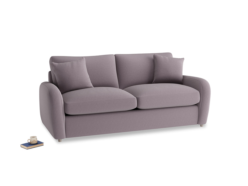 Medium Easy Squeeze Sofa Bed in Lavender brushed cotton