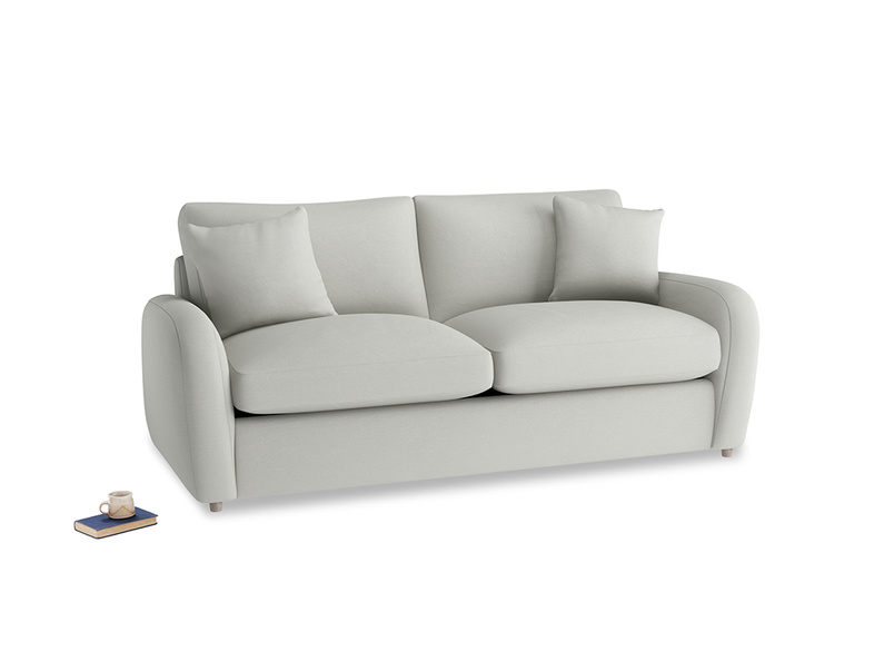 Medium Easy Squeeze Sofa Bed in Mineral grey clever linen
