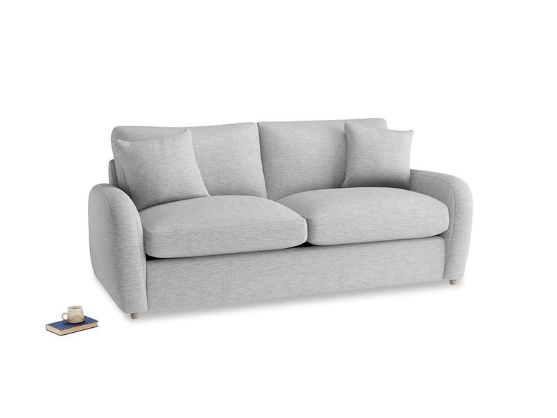 Medium Easy Squeeze Sofa Bed in Mist cotton mix