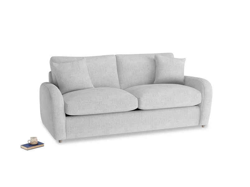 Medium Easy Squeeze Sofa Bed in Pebble vintage linen
