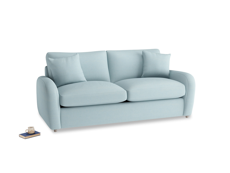 Medium Easy Squeeze Sofa Bed in Powder Blue Clever Softie
