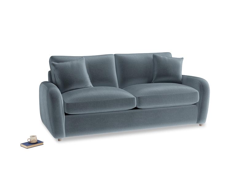 Medium Easy Squeeze Sofa Bed in Mermaid plush velvet