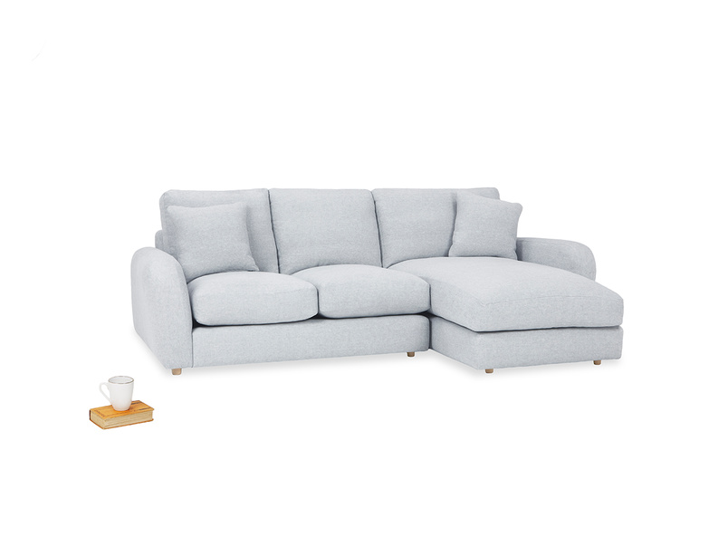 Easy Squeeze Chaise Sofa angled