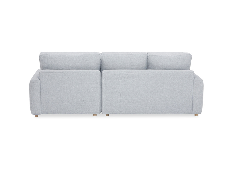 Easy Squeeze Comfy Chaise Sofa back