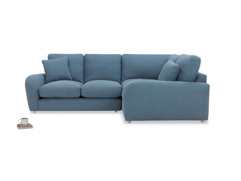 Easy Squeeze Comfy Corner Sofa left side