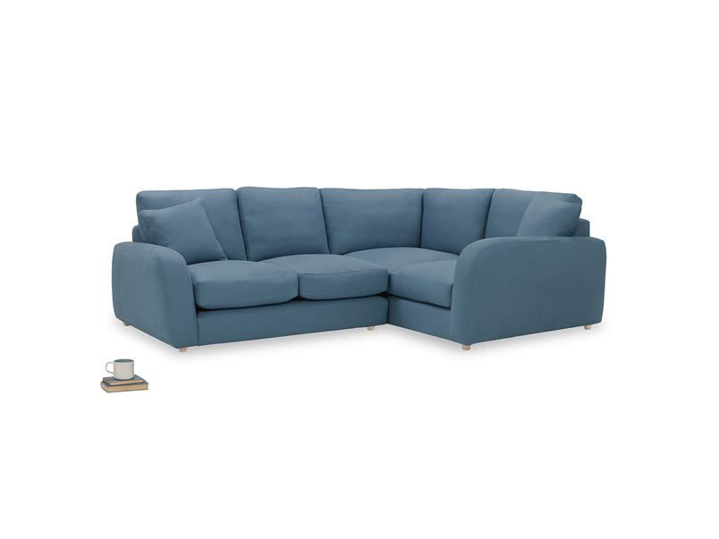 Easy Squeeze Corner Sofa angled