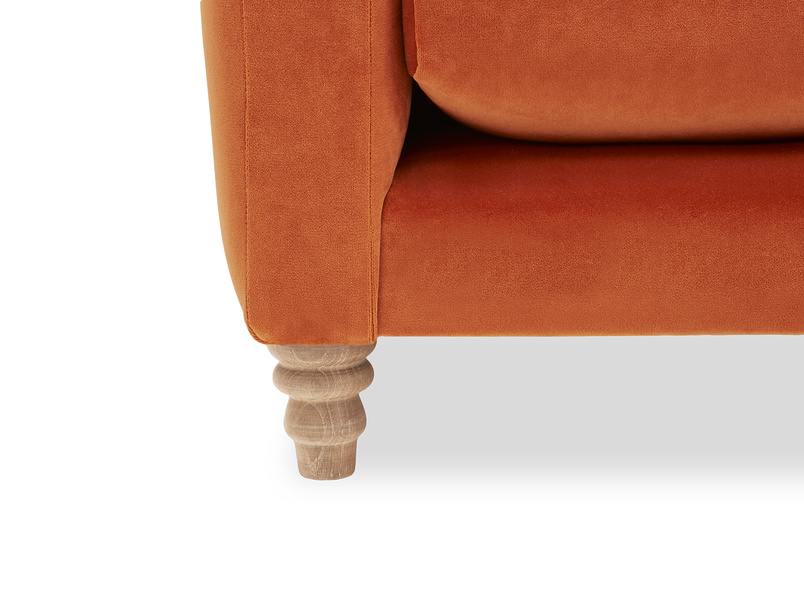 Slim Jim Comfy Corner Sofa leg detail