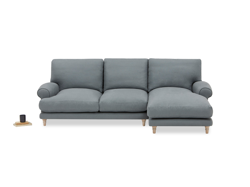Slowcoach Squishy Chaise Sofa