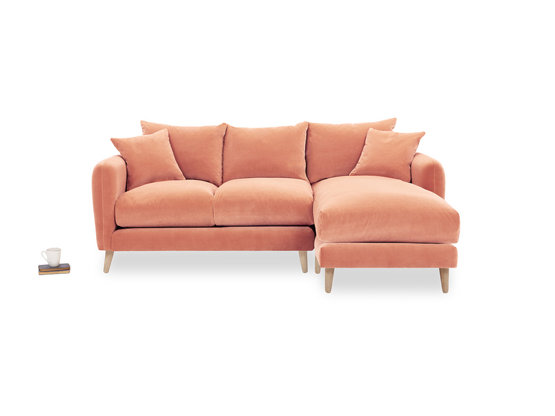 Squishmeister Chaise Sofa front