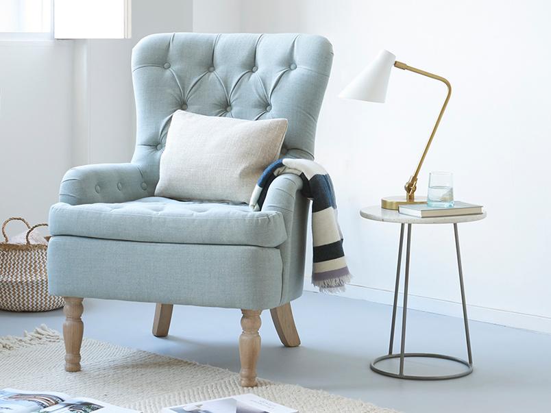 Hound Dog upholstered armchair