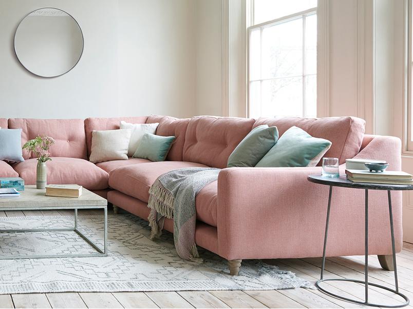 Slim Jim comfy corner sofa