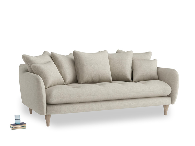 Large Skinny Minny Sofa in Thatch house fabric