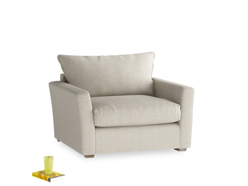 Pavilion Love Seat Sofa Bed in Thatch House Fabric