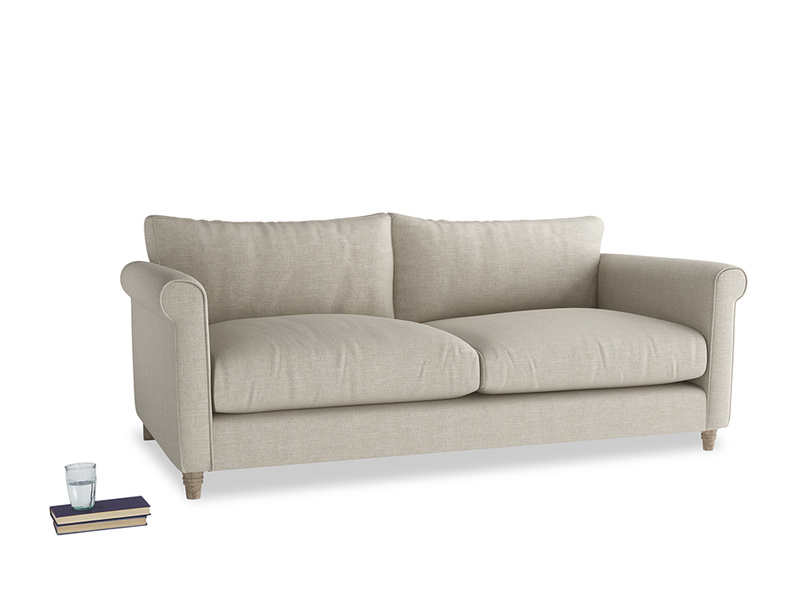Large Weekender Sofa in Thatch house fabric