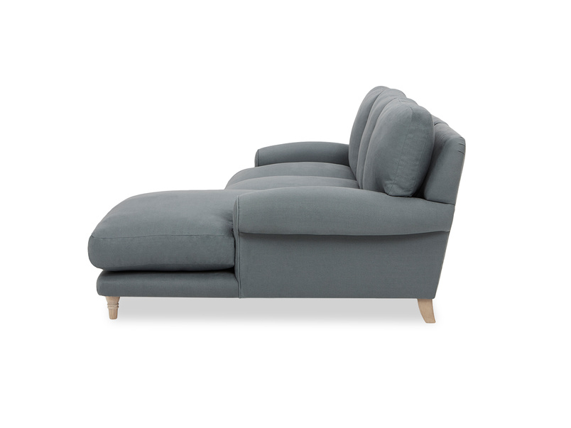Slowcoach Chaise Sofa side