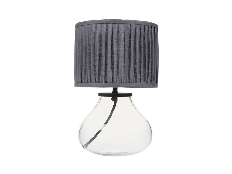 Mini Bessy Table Lamp with Graphite shade