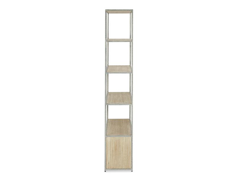 Tall Tim Slimline Shelves Side