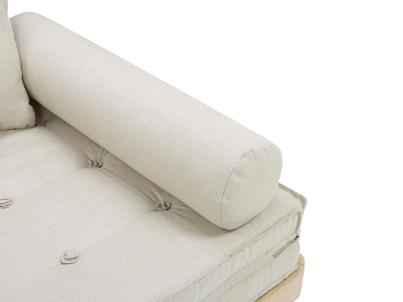 Parley daybed arm detail