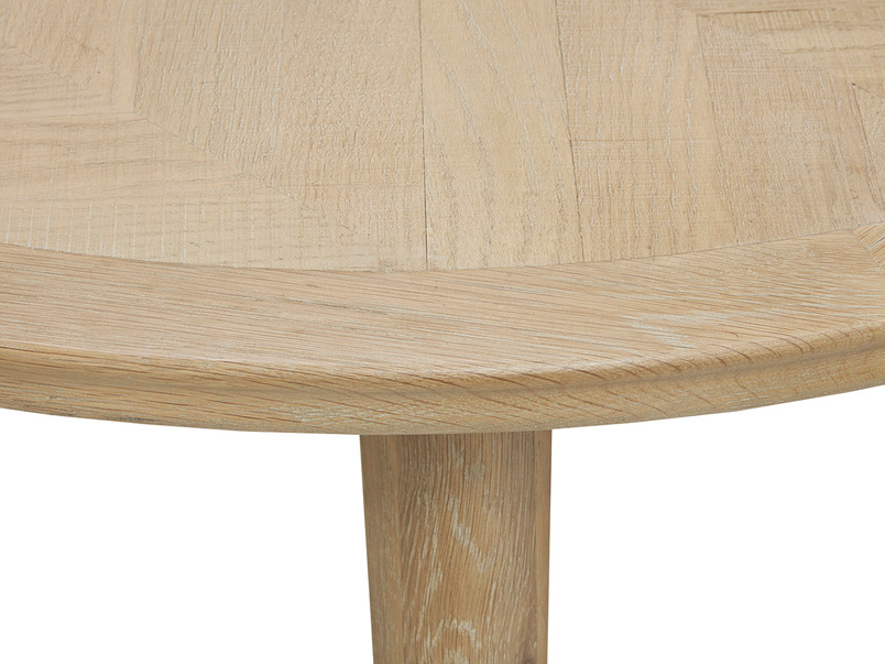 Parquet Pie Top detail