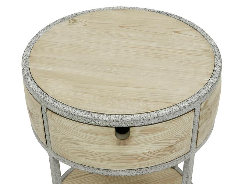 Little Tim Reclaimed Wood Side Table