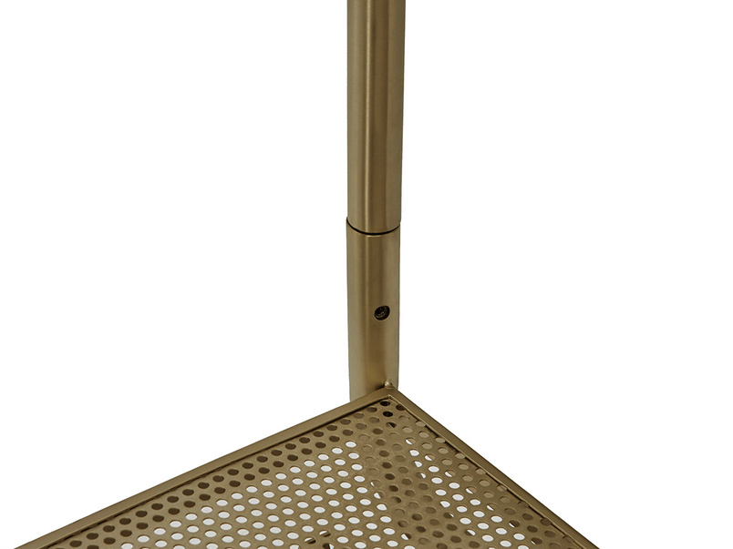 Bellboy Brass Hanging Rail leg detail