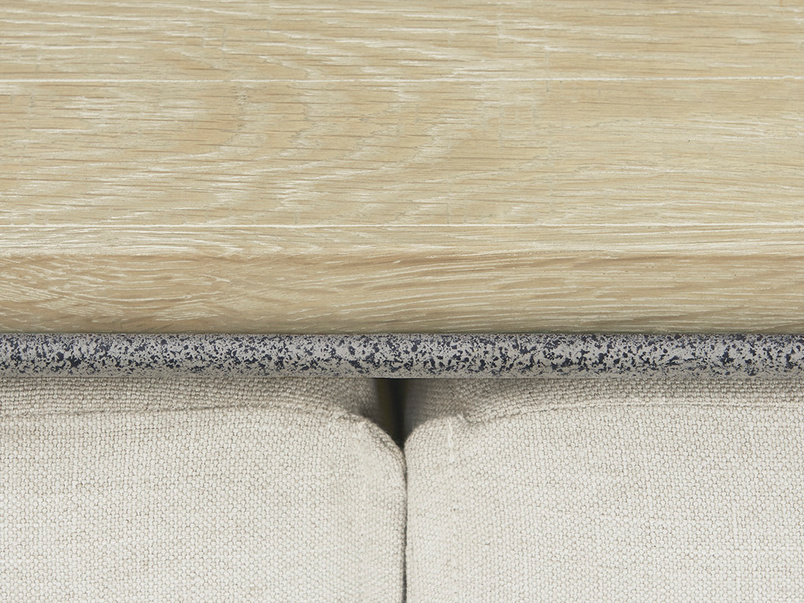Caboodle Space Saving Footstool Coffee Table Side Detail
