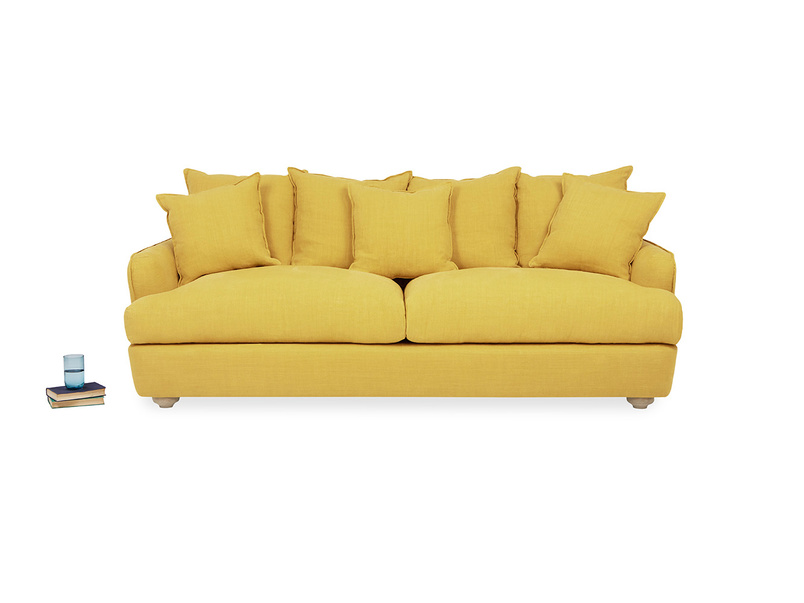Smooch French Seamed Scatter Back Squishy Sofa