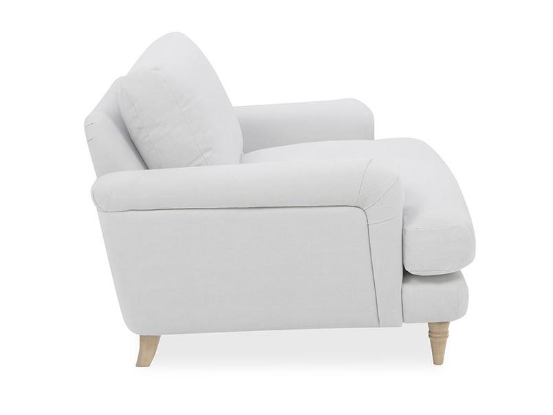Cinema Upholstered Love Seat Side