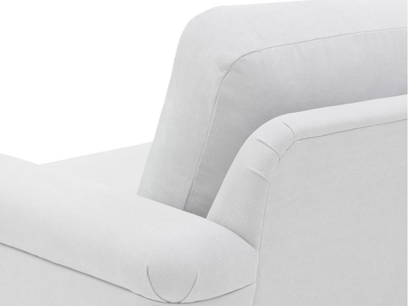 Cinema Upholstered Love Seat Back Detail