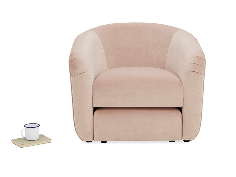 Tootsie Rounded Low Back Tub Armchair