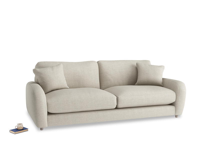 Large Easy Squeeze Sofa in Thatch house fabric