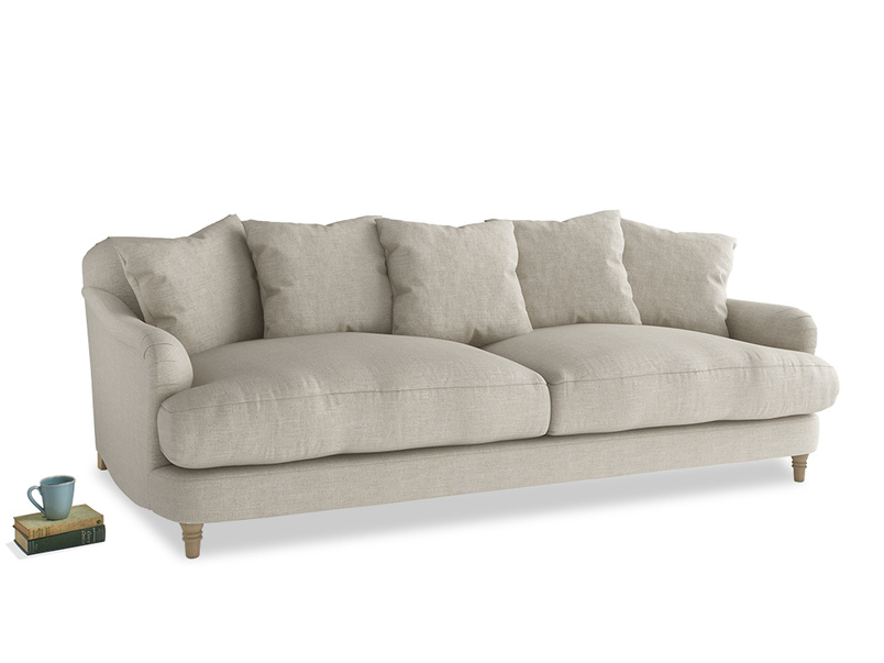 Large Achilles Sofa in Thatch house fabric
