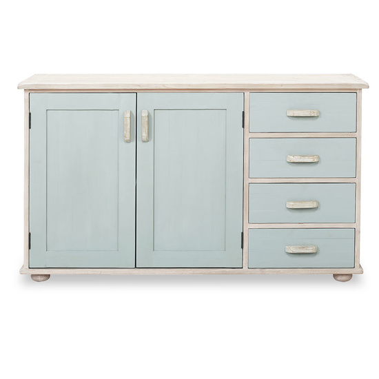 Holland painted wooden sideboard