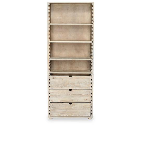 Tall Chockablock moveable shelves