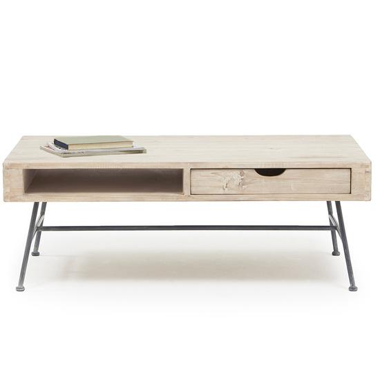 Cargo reclaimed wood coffee table