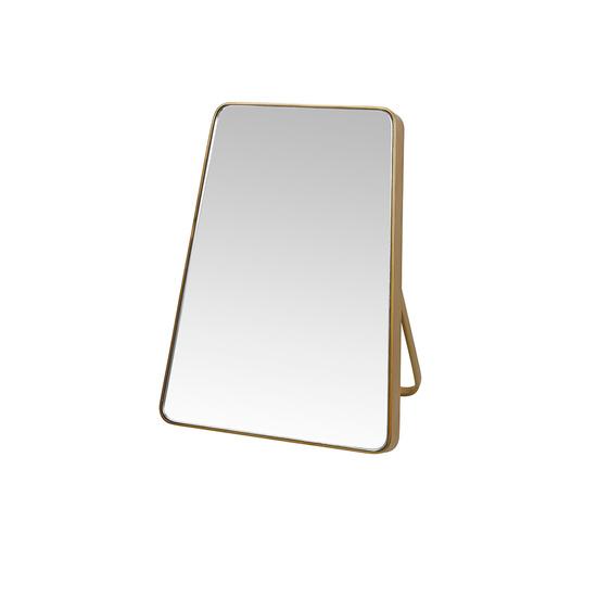 Little Stella brass vanity mirror